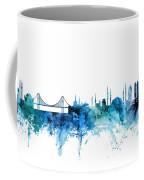 Istanbul Turkey Skyline Coffee Mug