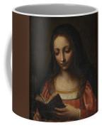 Lady Reading Coffee Mug