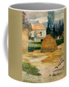 Landscape Near Arles Coffee Mug