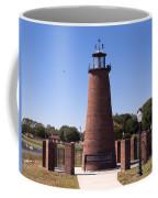 Lighthouse On Lake Toho At Kissimmee In Florida Coffee Mug
