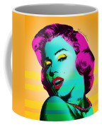 Marilyn Monroe Coffee Mug by Mark Ashkenazi