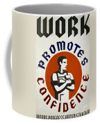 New Deal: Wpa Poster Coffee Mug