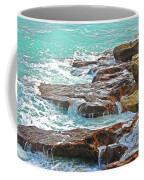 5- Ocean Reef Shoreline Coffee Mug