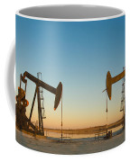 Oil Rig Coffee Mug