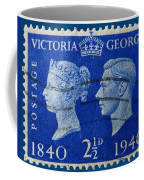 Old British Postage Stamp Coffee Mug