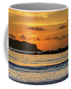 Orange Sunrise Seascape Coffee Mug