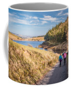 Pendle Hill Walk, North Yorkshire, Uk Coffee Mug