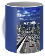 5 Pm Downtown Next Exit Coffee Mug