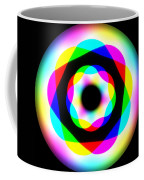 Rainbow Waves Coffee Mug