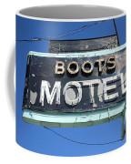 Route 66 - Boots Motel Coffee Mug
