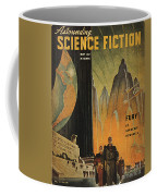 Science Fiction Magazine Coffee Mug by Granger