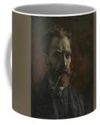 Self-portrait With Pipe Coffee Mug