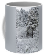 Snowstorm In The Pike National Forest Coffee Mug