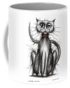 Stinker The Cat Coffee Mug