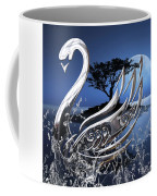 Swan Art. Coffee Mug