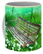 Swing In The Daisies Coffee Mug