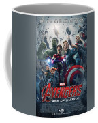 The Avengers Age Of Ultron 2015  Coffee Mug