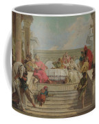 The Banquet Of Cleopatra Coffee Mug