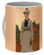 The Red School House Coffee Mug