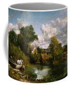 The White Horse Coffee Mug