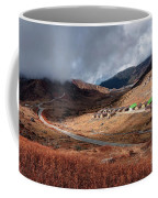 Top View Of Kupup Valley, Sikkim, Himalayan Mountain Range Coffee Mug
