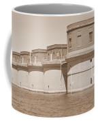 5 Towers Of Lake Murray Sc Sepia Coffee Mug