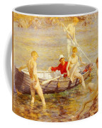 Tuke Henry Scott Ruby Gold And Malachite Henry Scott Tuke Coffee Mug