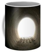 Tunnel Text And Shadow Concept Coffee Mug