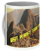 Ufo Postcards Home By Raphael Terra Coffee Mug