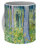 Undergrowth With Two Figures Coffee Mug