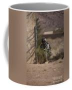 U.s. Soldier Conducts A Combat Training Coffee Mug