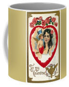 Valentines Day Card Coffee Mug