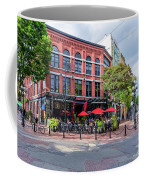 Outdoor Cafe In Gastown, Vancouver, British Columbia, Canada Coffee Mug
