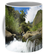 View Of Iao Needle Coffee Mug