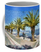 Walkway In Nafplio Town Coffee Mug
