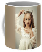 Young Girl Wearing A Crown Coffee Mug