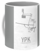 Ypk Pitt Meadows Regional Airport In Pitt Meadows Canada Runway  Coffee Mug