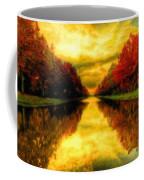 Painters Landscape Coffee Mug