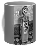 50's Gas Pump Bw Coffee Mug