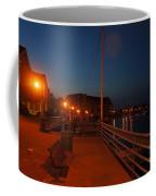 Racine Coastal Seascape - Michigan Lake In Wisconsin By Adam Asar Coffee Mug