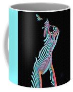 5291s-mak Nude Female Torso Rendered In Composition Style Coffee Mug