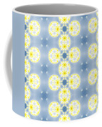 Fractal Floral Pattern Coffee Mug