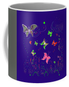 558   Butterflies  V Coffee Mug
