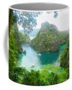 Nature Art Landscape Canvas Art Paintings Oil Coffee Mug