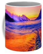 A Landscape Drawing Coffee Mug
