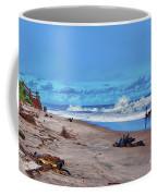 58- Sapphire Surf Coffee Mug