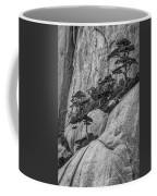 5867- Yellow Mountains Black And White Coffee Mug