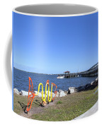 Indian River Lagoon At Eau Gallie In Florida Usa Coffee Mug