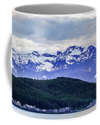 Alaska Nature And Mountain In June At Sunset Coffee Mug