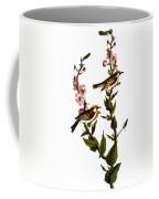 Audubon: Warbler Coffee Mug